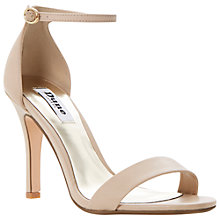 Buy Dune Hydro Heeled Suede Sandals Online at johnlewis.com