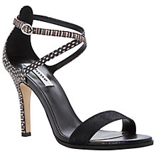 Buy Dune Heidie Contrast Snake Print Sandals Online at johnlewis.com