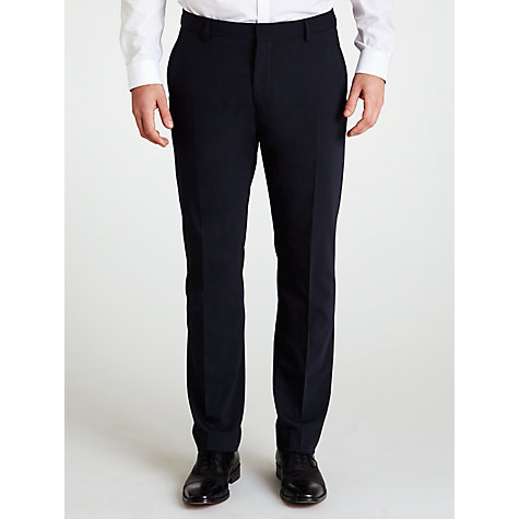 Buy Selected Homme Plainweave Suit Trousers, Indigo Online at johnlewis.com