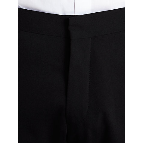 Buy Selected Homme Slim Fit Plainweave Suit Trousers, Black Online at johnlewis.com