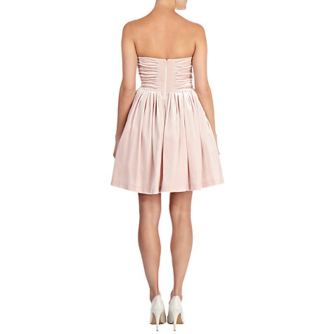 Buy Coast Tulia Short Dress, Blush Online at johnlewis.com