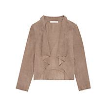 Buy Fenn Wright Manson Venesse Leather Jacket, Taupe Online at johnlewis.com