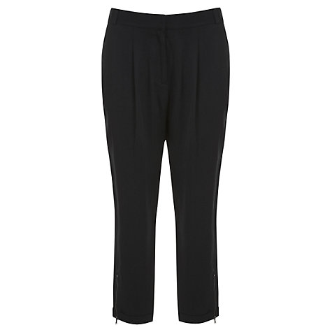 Buy Mint Velvet Zip Ankle Trousers Online at johnlewis.com