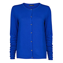 Buy Mango Essential Cardigan, Bright Blue Online at johnlewis.com