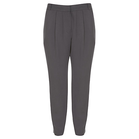 Buy Mint Velvet Harem Trousers, Mocha Online at johnlewis.com