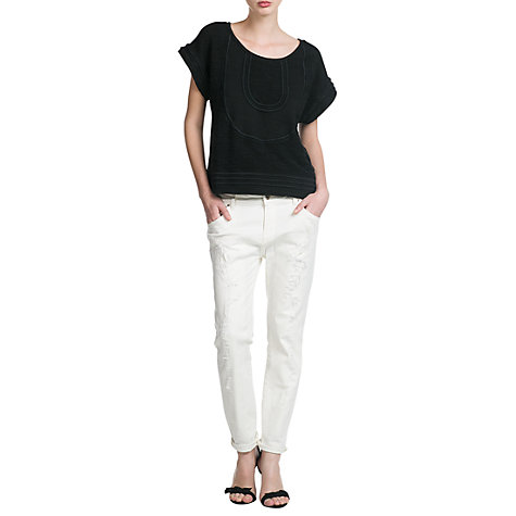 Buy Mango Boyfriend Lonny Jeans Online at johnlewis.com