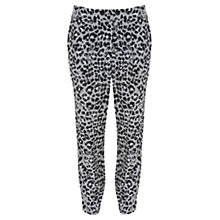 Buy Mint Velvet Alma Print Slouch Trousers, Multi Online at johnlewis.com