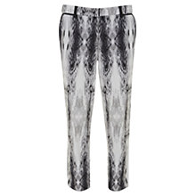 Buy Mint Velvet Billie Print Capris, Grey / Ivory Online at johnlewis.com