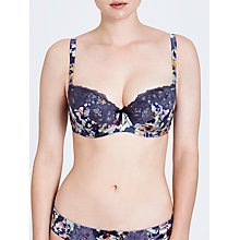 Buy John Lewis Louisa DD Plus Balcony Bra, Waterflower Online at johnlewis.com