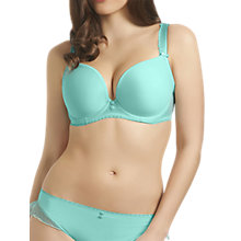 Buy Freya Deco Honey Underwired Plunge Bra, Topaz Online at johnlewis.com