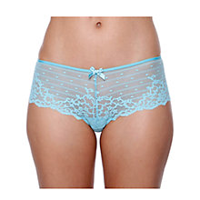 Buy Chantelle Rive Gauche Shorty Briefs, Powder Blue Online at johnlewis.com