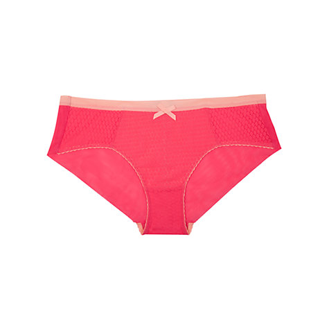 Buy Elle Macpherson Intimates Safari Style Briefs, Rouge Red / Apricot Blush Online at johnlewis.com
