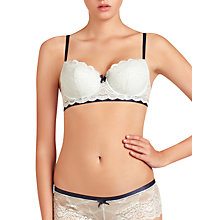 Buy Elle Macpherson Intimates Cloud Swing Persian Padded Contour Bra, Blue Glass / Insignia Blue Online at johnlewis.com