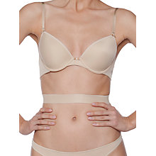 Buy Chantelle Basic Invisible Backless Push Up Bra, Skin Online at johnlewis.com