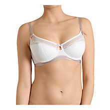 Buy Triumph Beauty-Full Icon Balcony Bra, White Online at johnlewis.com