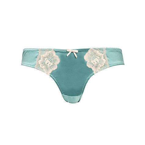 Buy COLLECTION by John Lewis Louisa Briefs, Seafoam Online at johnlewis.com