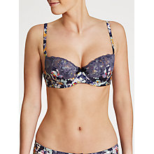 Buy John Lewis Louisa Balcony Bra, Waterflower Online at johnlewis.com