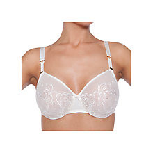 Buy Chantelle Barocco Moulded Bra, Ivory Online at johnlewis.com