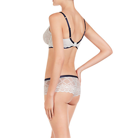 Buy Elle Macpherson Intimates Cloud Swing Persian Contour Bra, Blue Glass / Insignia Blue Online at johnlewis.com