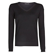 Buy Mango Essential V-Neck Jumper Online at johnlewis.com
