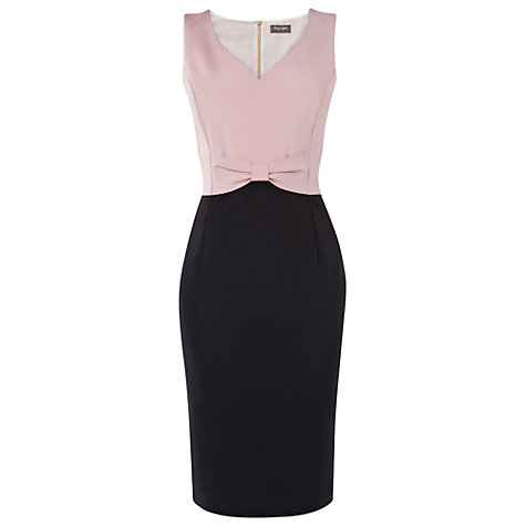 Buy Phase Eight Helena Dress, Black/Cameo Online at johnlewis.com