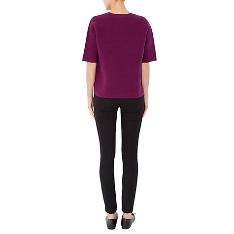 Buy Hobbs Kiana Jumper, Violet Pink Online at johnlewis.com