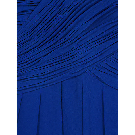 Buy Hobbs Invitation Rachel Maxi Dress, Iris Blue Online at johnlewis.com