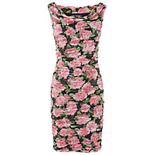 Buy Phase Eight Hydrangea Print Dress, Multi-coloured Online at johnlewis.com
