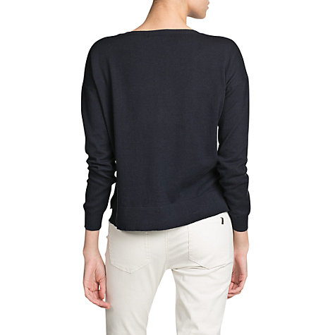 Buy Mango Essential Round Neck Jumper Online at johnlewis.com