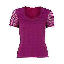 Buy Precis Petite Stripe Lace Top Online at johnlewis.com
