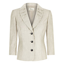 Buy Precis Crinkle Jacket, Oyster Online at johnlewis.com