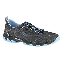 Buy Merrell Women's Hurricane Lace Walking Shoes, Black Online at johnlewis.com