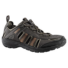 Buy Teva Men's Kimtah WP Mesh Sport Shoe, Black/Brown Online at johnlewis.com
