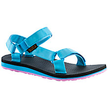 Buy Teva Men's Original Universal Sandal, Blue/Pink Online at johnlewis.com