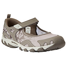 Buy Merrell Women's Hurricane MJ Walking Shoes, Taupe Online at johnlewis.com