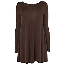 Buy Phase Eight Cali Swing Knitted Top, Damson Online at johnlewis.com