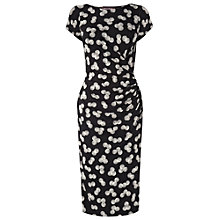 Buy Phase Eight Shell Print Dress, Black/Ivory Online at johnlewis.com