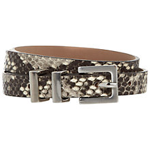 Buy Hobbs Bea Snake Belt, Snake Print Online at johnlewis.com