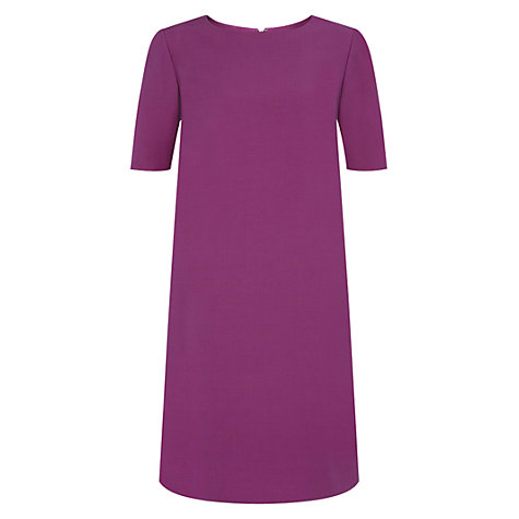 Buy Hobbs Krista Dress, Violet Pink Online at johnlewis.com