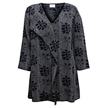 Buy East Ren Printed Blouse, Navy Online at johnlewis.com
