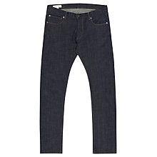Buy Reiss Robertson Vintage Wash Stretchy Jeans, Navy Online at johnlewis.com