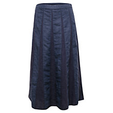 Buy East Longline Panel Delave Skirt, Indigo Online at johnlewis.com
