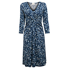 Buy East Dylan Knit Jersey Dress, Indigo Online at johnlewis.com
