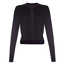 Buy Damsel in a dress Siesta Cardigan, Black Online at johnlewis.com