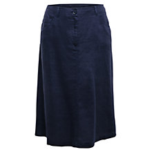 Buy East Jean Linen Skirt, Ink Online at johnlewis.com