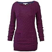 Buy Fat Face Fleur Knit Tunic Jumper Online at johnlewis.com