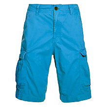 Buy Timberland Bridgeport Cargo Shorts, Campanula Blue Online at johnlewis.com