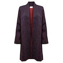 Buy East Stitch Detail Coat, Ink Online at johnlewis.com