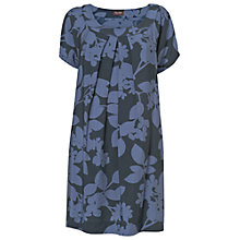 Buy Phase Eight Etta Leaf Shadow Tunic, Navy Online at johnlewis.com
