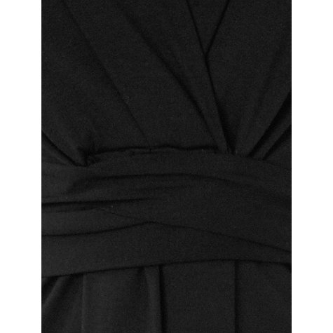 Buy Phase Eight Roxanne Wrap Dress, Black Online at johnlewis.com